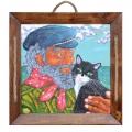 Моряк с коте